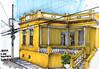 24º SketchFolium (AdrianoMello) Tags: amarelo markers casarão mogidascruzes josébonifácio hidrocor