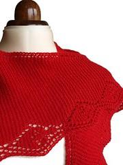 Strawberry shawl