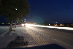 Afantou (giannaklis) Tags: night lights rodos rhodes afantou