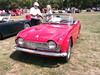 1962 Triumph TR4(2) (cjp02) Tags: show classic car vintage indiana days british motor zionsville fujipix av200 cjp02 1962triumphtr4indy