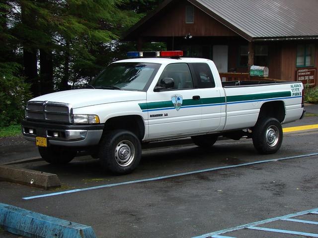 alaska truck ak police pickup ram longbed dodgeram ram2500 alaskastateparks nleaf alaskastateparksparkranger alaskastateparksranger