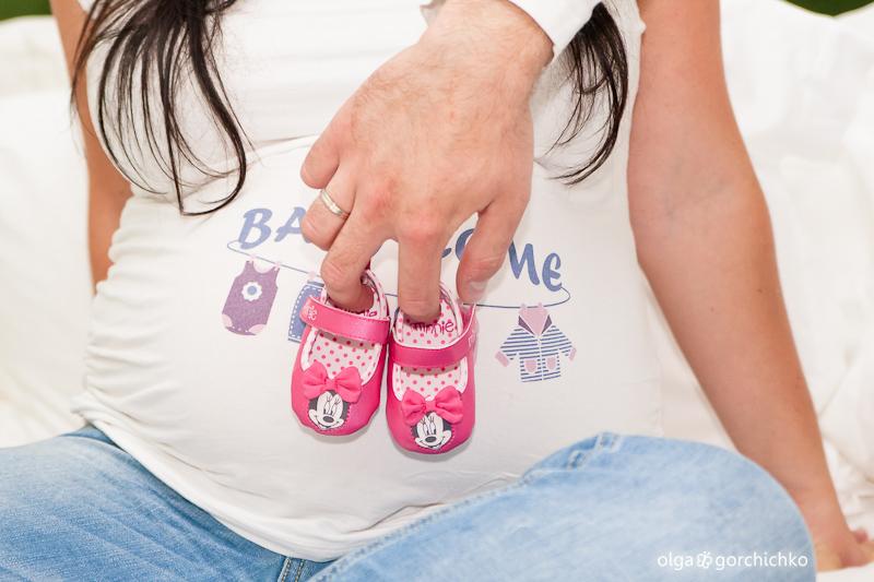 Фотосессия беременности. Детали
