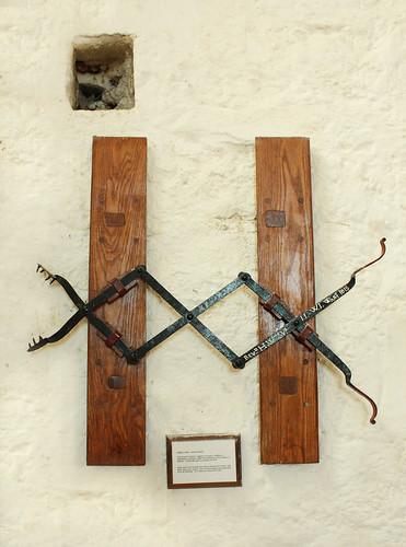 Dog tongs, St Beuno's Church, Clynnog Fawr