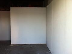 working on reinstalling walls