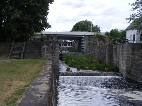 The abandoned lock chambers
