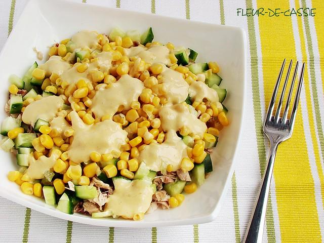 салат куриный с кукурузой