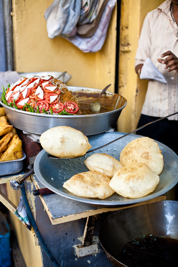 Deep fried Indian breads