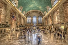 Grand Central Terminal HDR (Dave DiCello) Tags: newyorkcity newyork cars photoshop subway nikon manhattan tripod busy grandcentralstation nikkor grandcentral hdr highdynamicrange grandcentralterminal cs4 photomatix tonemapped colorefex cs5 d700 davedicello hdrexposed