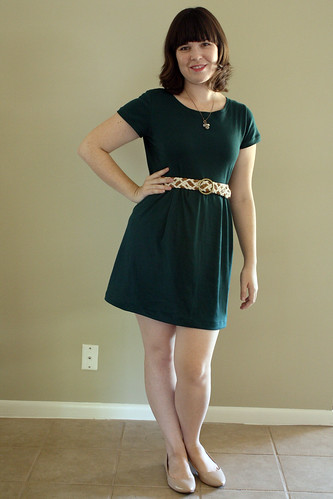 Forest Green Knit Dress