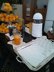 カフェトスカの生オレンジジュースの写真