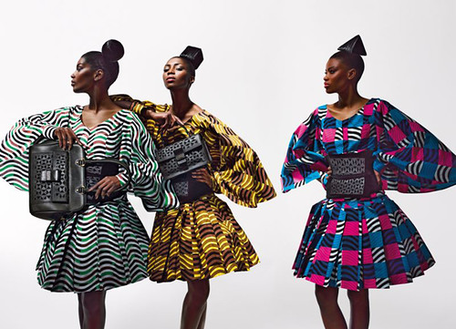 Dazzling Graphics' fabric collection from Vlisco 1