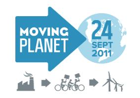 Moving Planet button