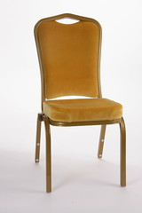 Sir John Hall - Design one of two (Kirkhouse Furniture) Tags: wedding comfortable gold chairs stacking banquet seating aluminium upholstered