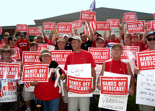 Town Hall Hands Off Medicare
