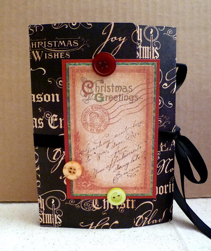 Christmas Memory Box Album - Front