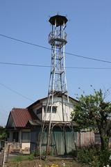 上谷ケ貫の火の見櫓(入間市)