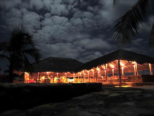 Nemberala Beach Resort @ night
