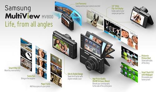 Samsung MV800 Infographic @ IFA2011
