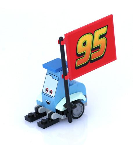 8484 Ultimate Build Lightning Mcqueen - 2