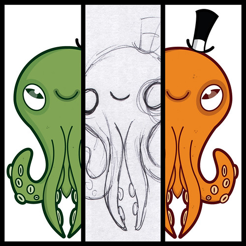 Octopus scribbles by [rich]