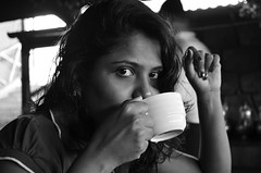 The morning coffee (~ rohit (Out For A While)) Tags: portrait cup coffee nikon mysore rohit d5100