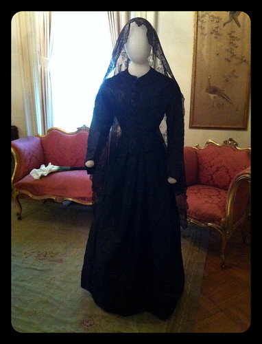 Mourning Dress, Woodruff Fontaine House Museum, Memphis, Tenn.