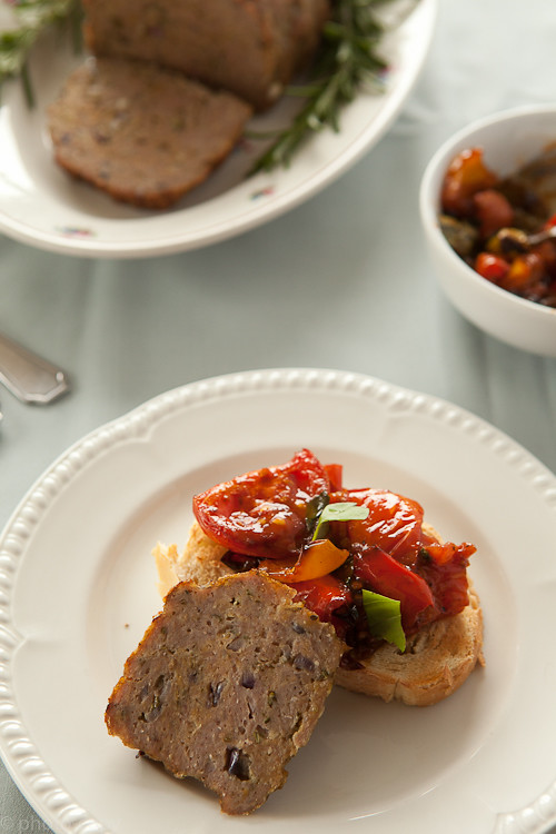 meatloaf with paprika chutney