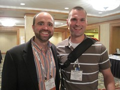 Joe Pulizzi and Marcus Sheridan at Content Mar...