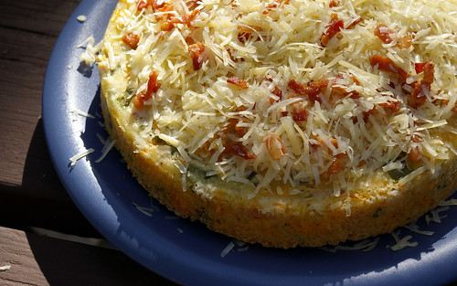 Savoury Bacon and Cheese Cake