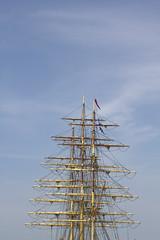Sky sailing. (Kim Roslyng) Tags: sky canon 50mm mast sailling 550d