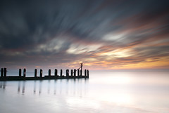 Sunrise (:: arshad ::) Tags: wood uk longexposure morning sea england sky colour beach water sign clouds sunrise suffolk unitedkingdom shore land marker arshad groynes lowestoft husain siddiqui nd110 arshadhusainsiddiqui cambournephotographygroup httpwwwfacebookcomarshadsiddiquiphotography
