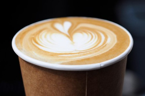 Blue Bottle Coffee Latte - quick shot