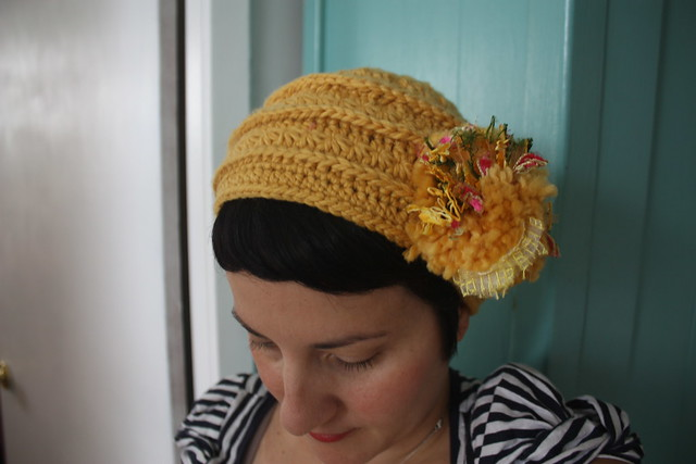 Star Crochet Pom hat