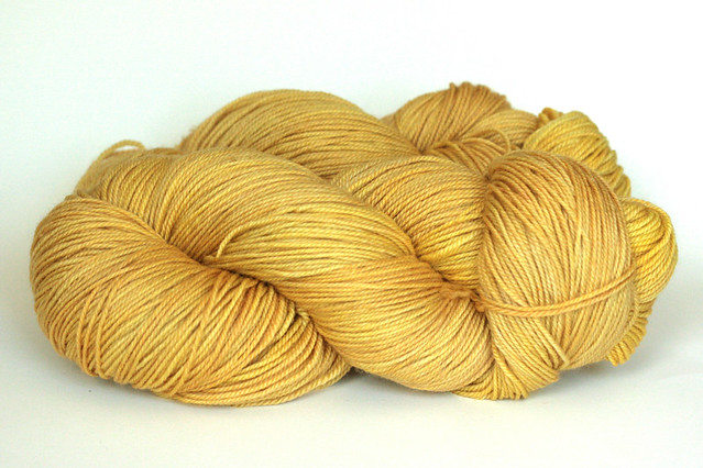 gold - Purple Label Cashmere Sock Yarn