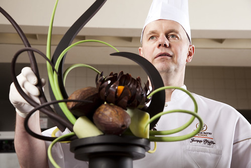 Jacquy Pfeiffer & chocolate sculpture