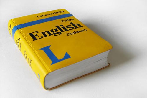 An English Dictionary