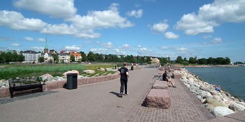 Pyhän Birgitan puisto, Eiranranta