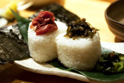 onigiri @ sakagura