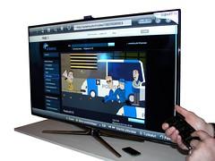 Samsung Smart TV ruudulla Yle Areena-sovellus
