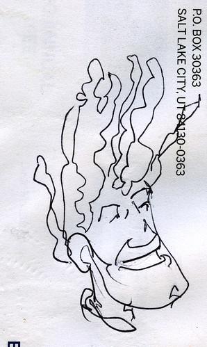 ballpoint doodle by blackaller