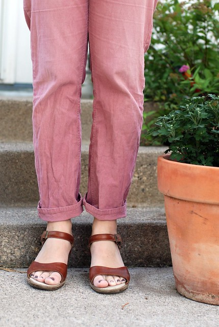 09132011 Banana Republic Pink Pants 3