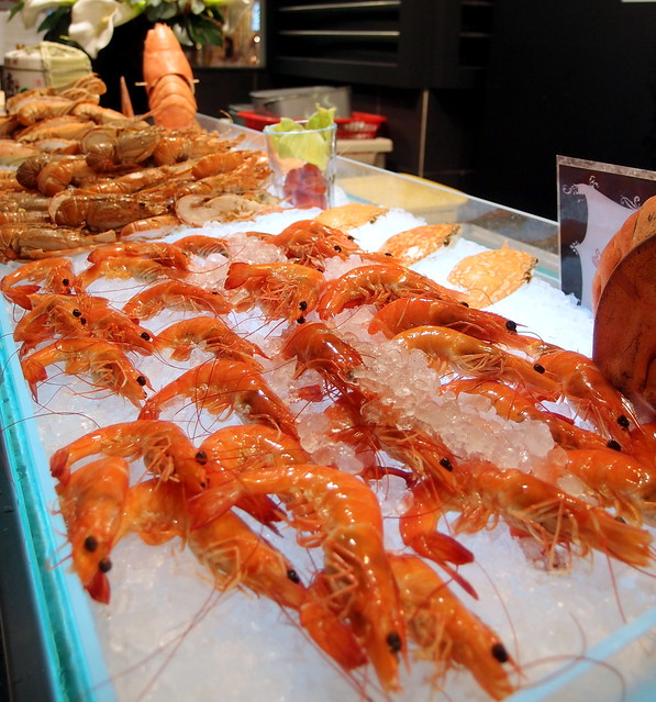 Buffet Town Seafood Prawns Selection