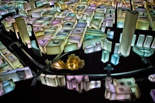 Escultura de Luz de Bilbao en Shanghai World Expo 2010