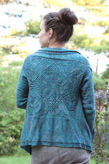 Dahlia - ooh! the back.