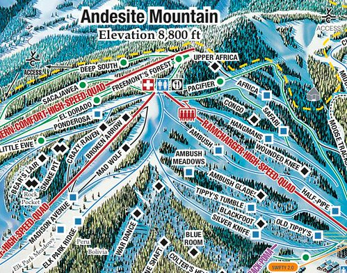 Andesite Mtn