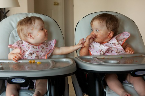 Alexis and Ellery after Spaghetti