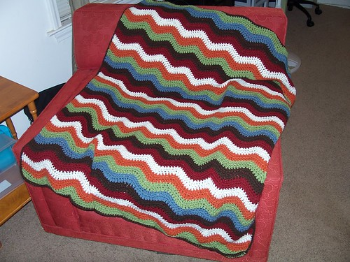 Joshua's Ripple Blanket
