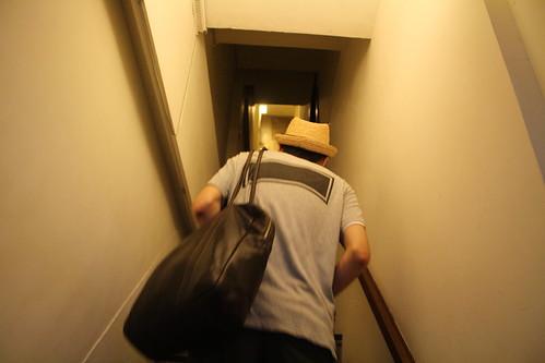 [台湾2.5] 階段を上る