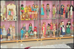 need to dust part 2 (girl enchanted) Tags: ikea toy toys mine dolls barbie things shelf collection collections stuff hoard barbies collectibles dollies