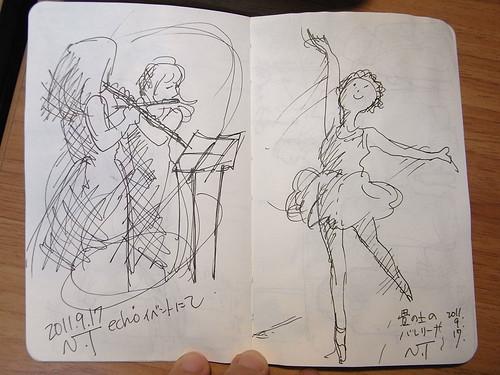 フルーティスト&バレリーナ Flutist & Ballerina